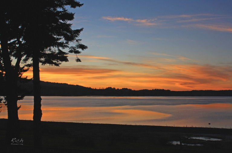 Sequim Bay Sunset