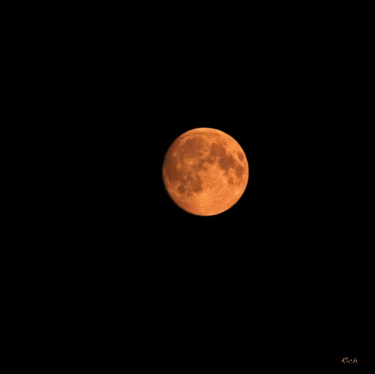 The Orange Moon